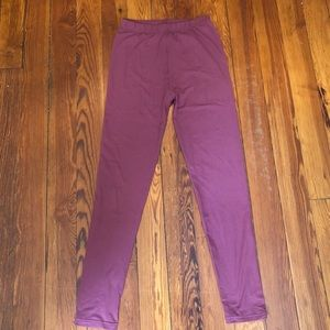 Pants - Cranberry Leggings